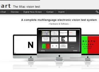 iChart - The iMac Visiontest